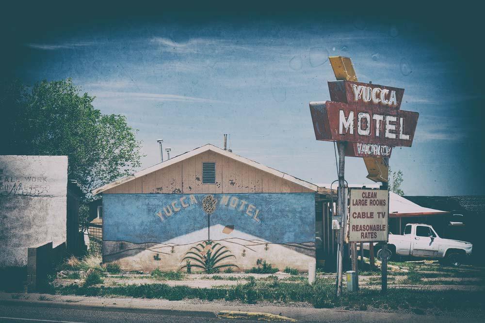 In das Motel checken wir nicht mehr ein...