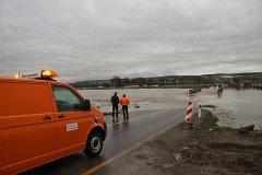 Hochwasser Unstrut Kyffhäuserkreis