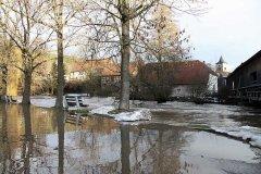 Hochwasser Ilm Weimarer Land