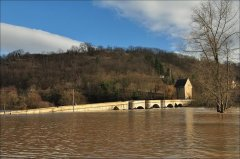 Hochwasser Werra Creuzburg